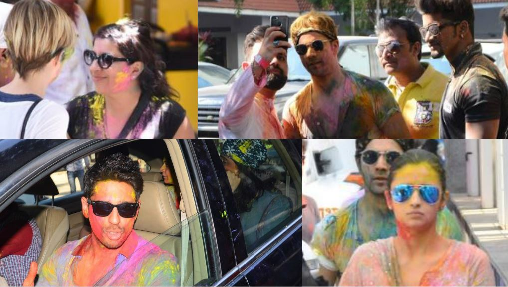 Let's play Holi! This is how your favourite stars celebrated the festival