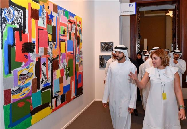 Photos: Dubai hosts largest regional contemporary art expo