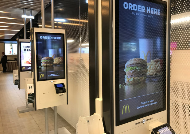 McDonald's tests mobile ordering before national rollout