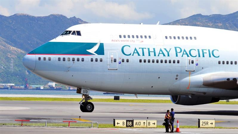 Cathay Pacific Airways posts first annual loss in decade