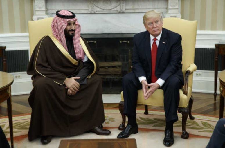 Light-hearted exchange between Trump and Saudi Deputy Crown Prince goes viral