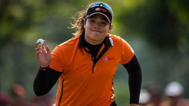 Thailand's Ariya maintains share of lead at Founders Cup
