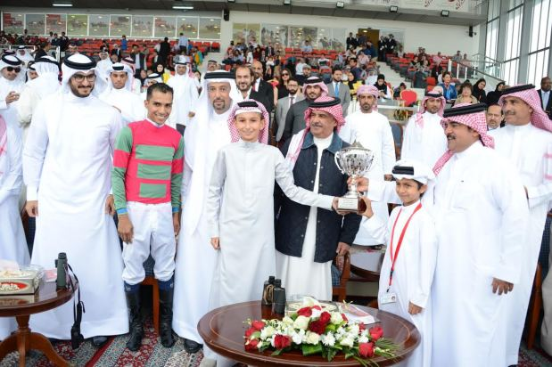 Wakame and Milyar lift His Majesty King Hamad Cup