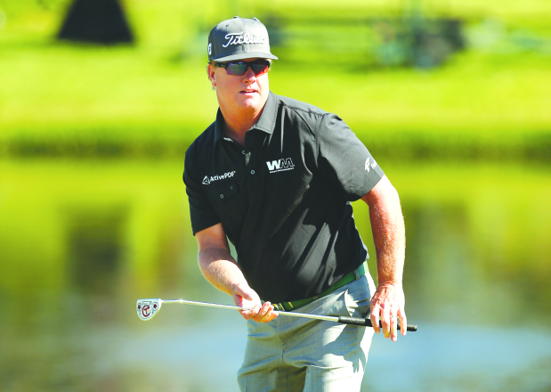 Hoffman surges to one-shot lead