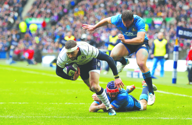 Scotland sink Italy to end campaign in style