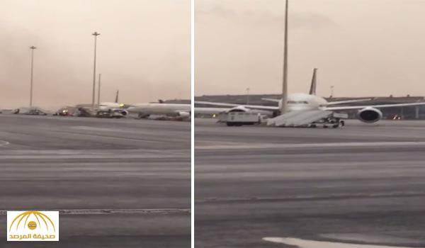 Saudi denies plane collision due to windstorms