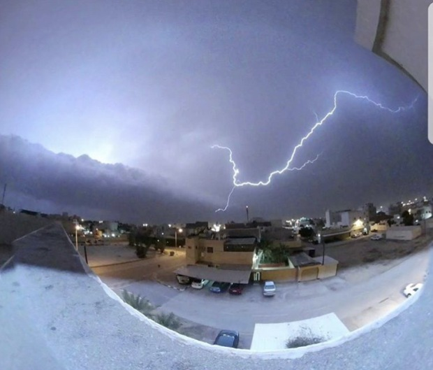 Local News: In Pictures: Strong winds lash Bahrain