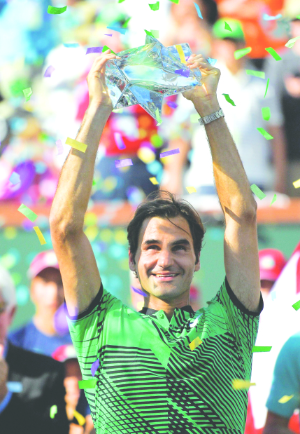 Indian Wells Masters: Federer extends supermacy