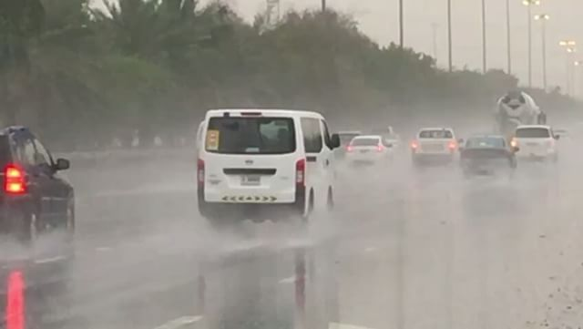 PHOTOS: Torrential rain in parts of the UAE