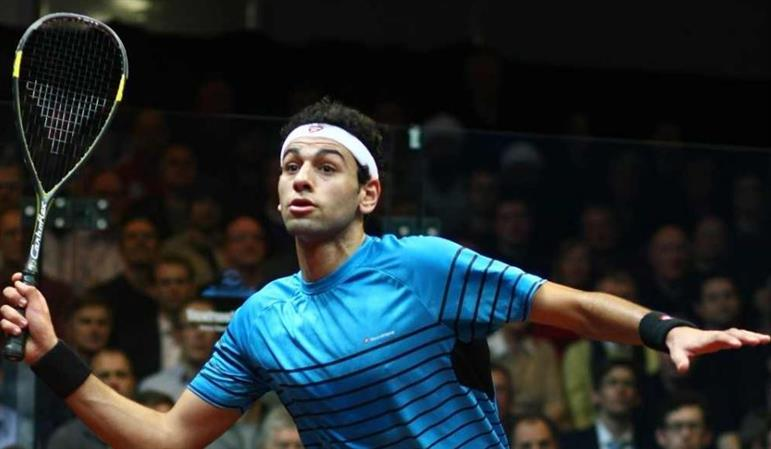 Elshorbagy survives first-round scare
