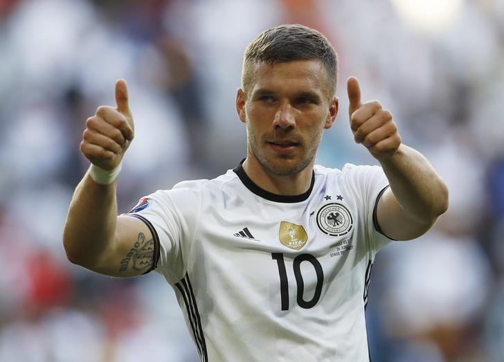 Podolski set for farewell