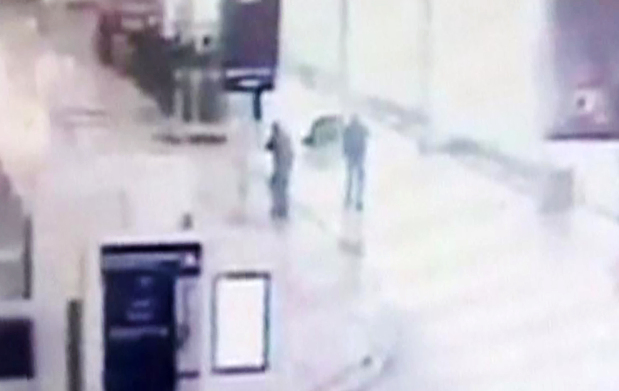 Paris Orly attack: CCTV footage shows the moment attacker grabbed soldier's gun