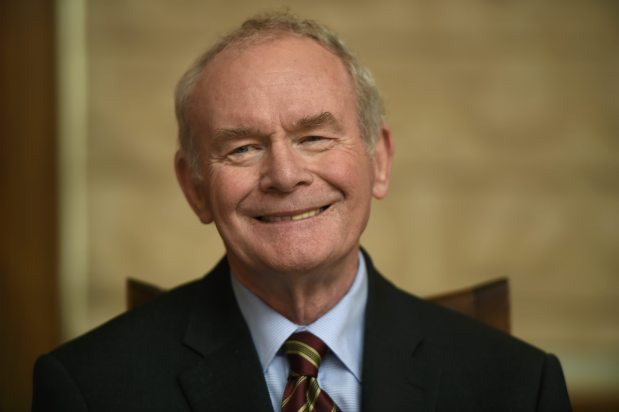 Northern Ireland's Martin McGuinness dies at 66