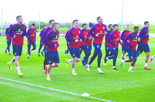 England brace for German challenge