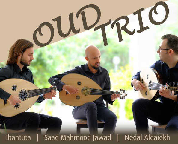 Traditional oud music in the air...