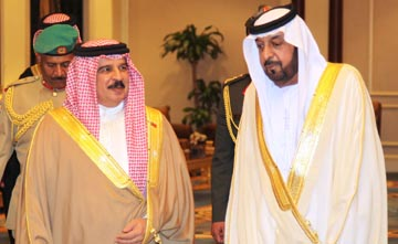 King thanked by UAE president