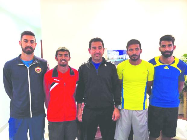 Bahrain team gear up for Davis Cup challenge