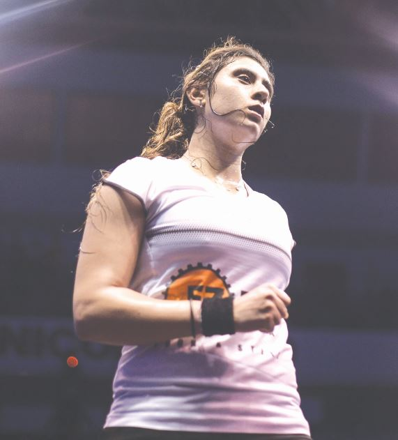 El Sherbini reaches quarters with ease