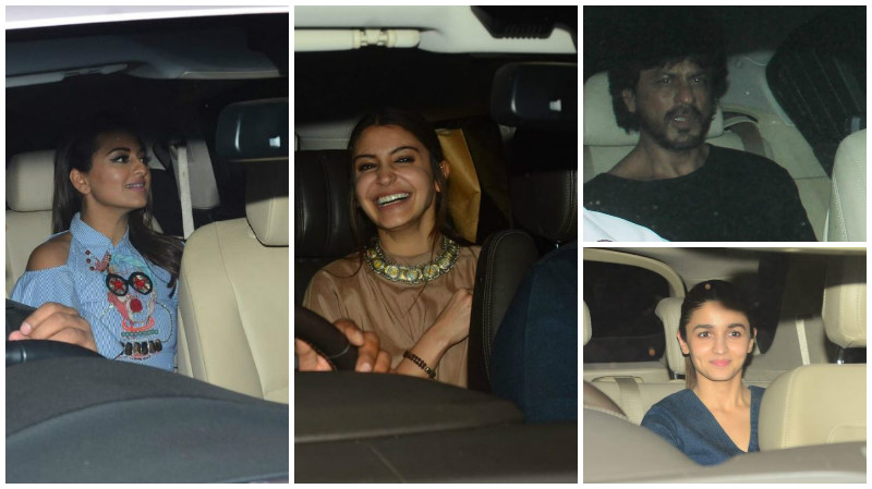 Shah Rukh wishes Anushka ahead of 'Phillauri' release