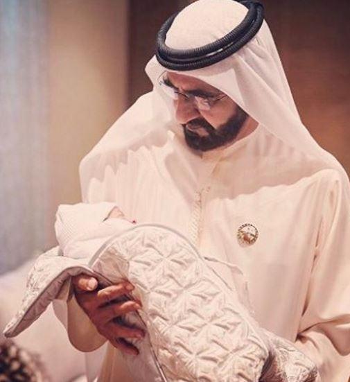 Photos: New grandson joy for Shaikh Mohammed
