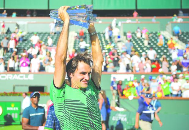 Federer on track to become 'oldest world No. 1'