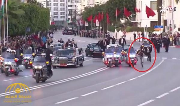 Video: Intruder arrested during royal procession in Morocco