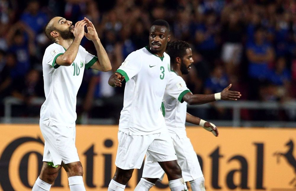 Football: Saudis smash Thai hopes of payback