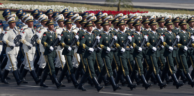 Photos: Chinese, Saudi, Turkish troops participate in Pakistan's Republic day parade