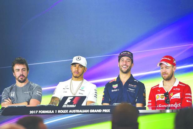 Ferrari 'team to beat' in Australian F1 Grand Prix