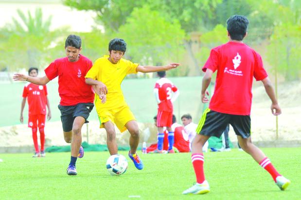 Indian School in soccer last four