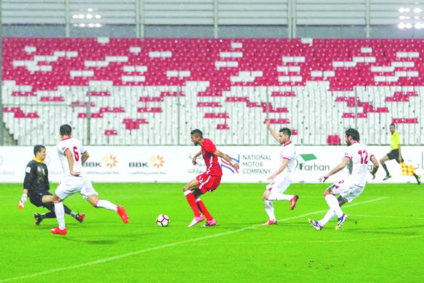Bahrain escape with a late goal