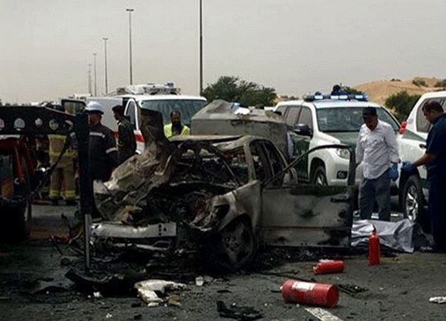 Emirati man killed in horrific accident