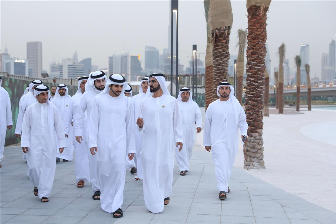 In Pictures: Mohammed bin Rashid City on track