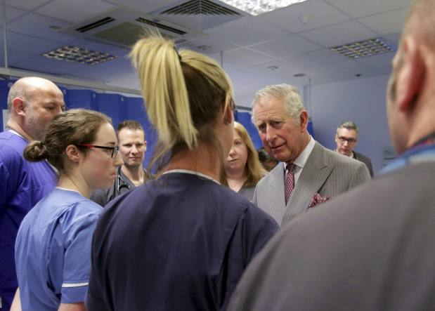 In Pictures: Prince Charles meets with London attack victims