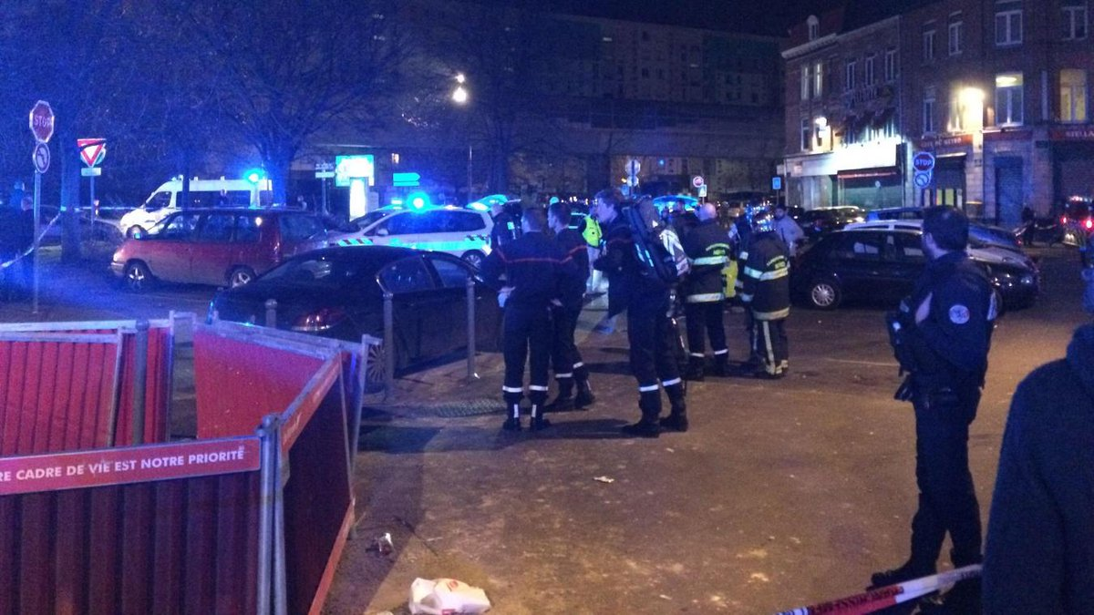 Terror fears in Lille as 'many wounded' in shooting near metro station