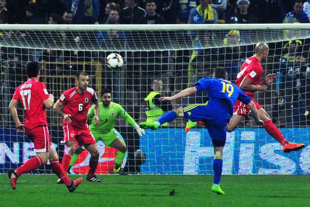 Bosnia hammers Gibraltar 5-0 in World Cup qualifier