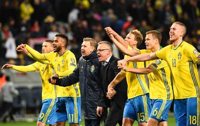 Forsberg on fire as Sweden hammer Belarus 4-0
