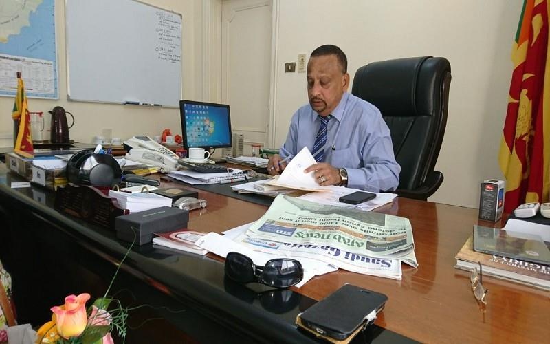 Sri Lankan consul general in Jeddah dies of heart attack