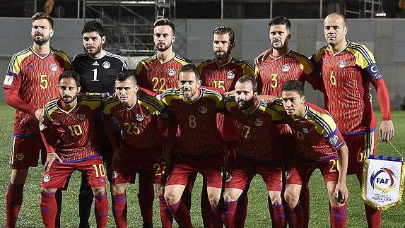 Andorra ends 58-match losing streak in World Cup qualifier