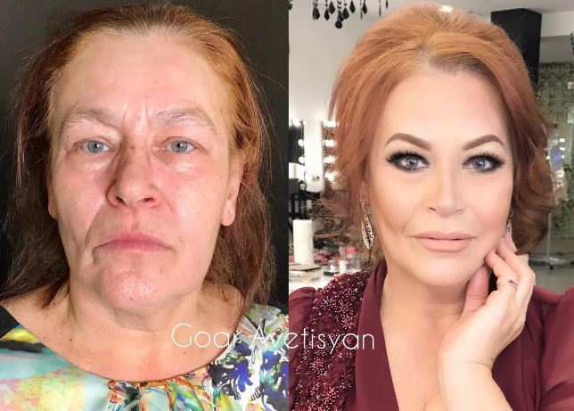 Power of Make-up: This Russian Instagrammer transforms people with her brushes!