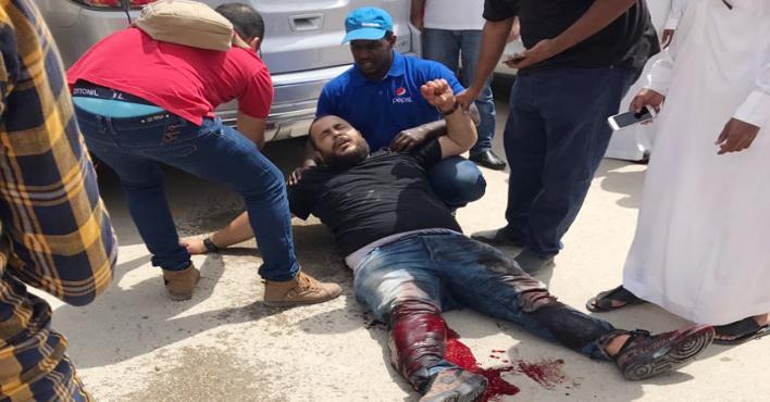Security guards injured as Saudi bank's armoured van is robbed