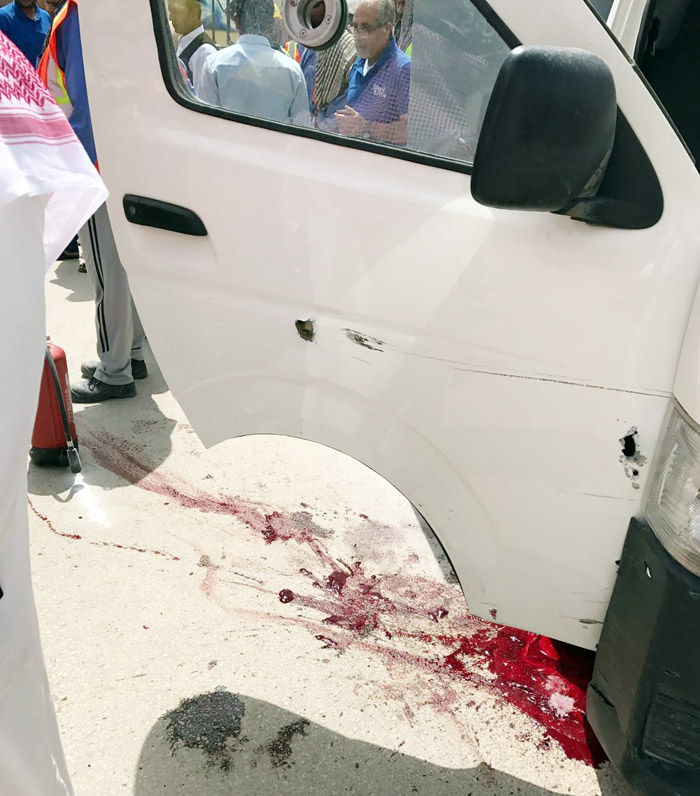 Security guards injured as Saudi bank's armoured van is robbed