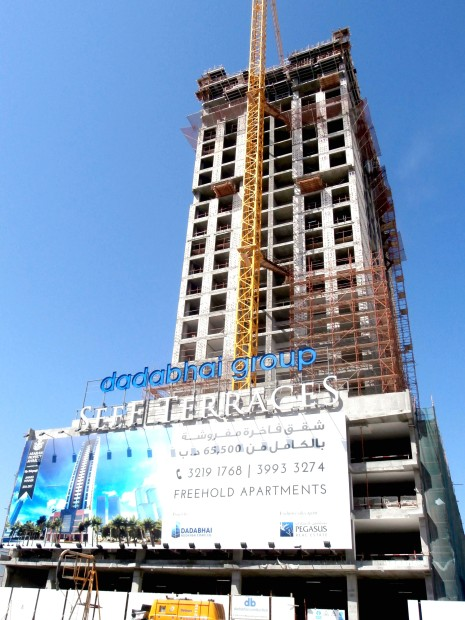 Seef Terraces moves ahead at record pace