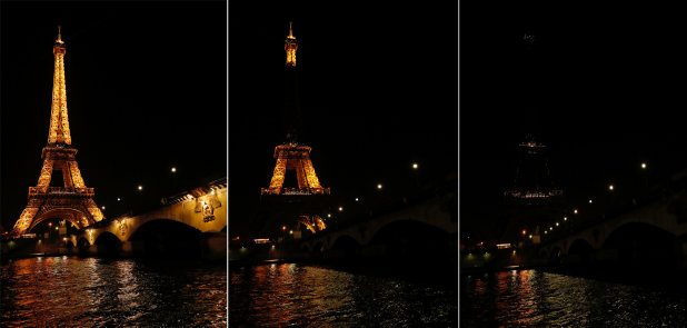 In Pictures: Cities and monuments switch off for Earth Hour