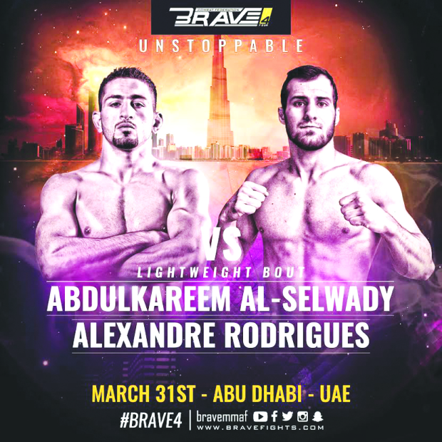 Brave fighters set for Abu Dhabi showdown