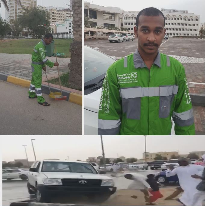 Emirati man to clean streets for three months for stunt driving
