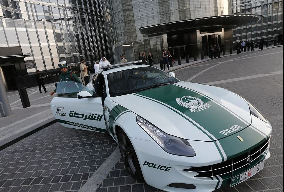 UAE: It's Official: The fastest cop car in the world is ...  Fastest Police Car In The World 2013
