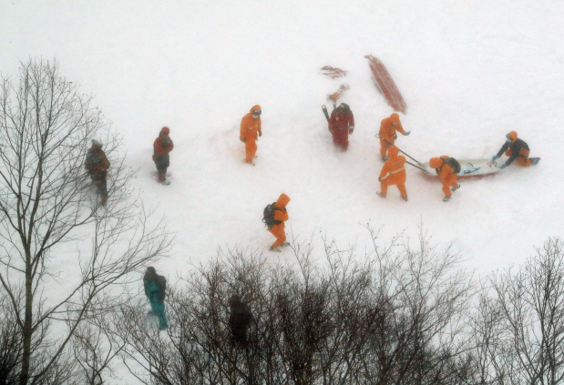 Eight students feared dead in Japan avalanche
