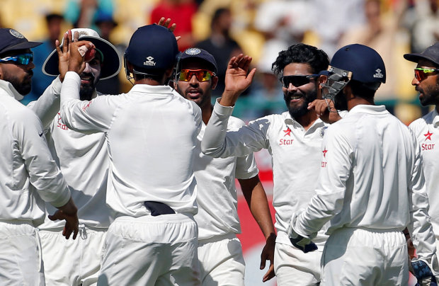India on verge of victory as Australia collapse