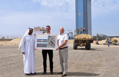 Dubai Motorsport Business Park work on track